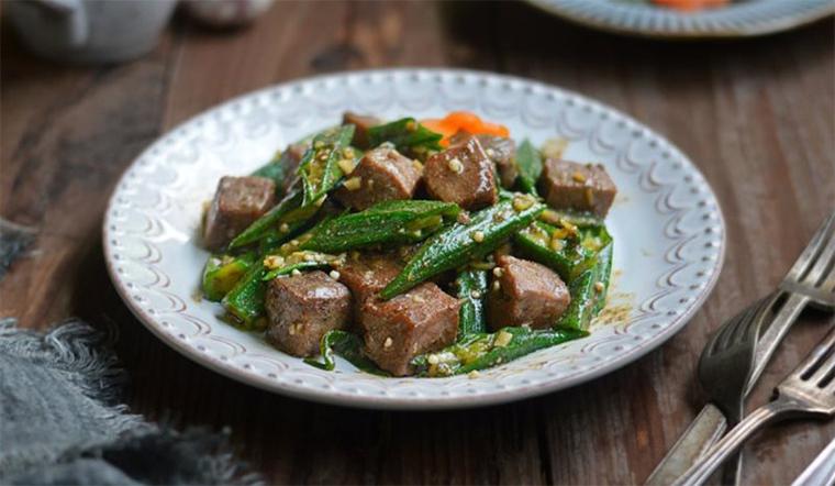Đậu bắp xào thịt bò món ngon bổ dưỡng dễ làm dễ ăn