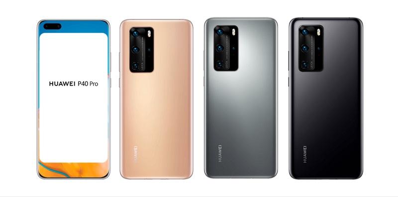 Huawei P40 và P40 Pro lộ hình ảnh thiết kế mặt trước cực kỳ đẹp
