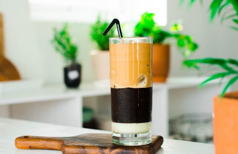Biến tấu cà phê bọt biển DALGONA với sữa đặc