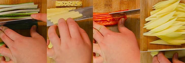 Bước 3 Chuẩn bị rau sống Bánh tráng cuốn thịt heo