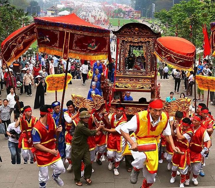 Hoạt động trông Lễ Giỗ tổ Hùng Vương