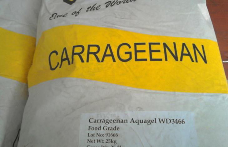 phụ gia carrageenan