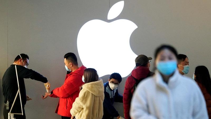 Dịch virus Corona lan rộng khiến Apple không còn là công ty ngàn tỷ USD nữa