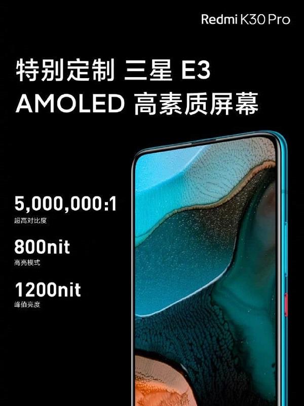 Redmi K30 Pro chính thức ra mắt: Chip Snapdragon 865, 4 camera 64MP, giá từ 10 triệu đồng