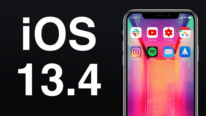Cách tải iOS 13.4