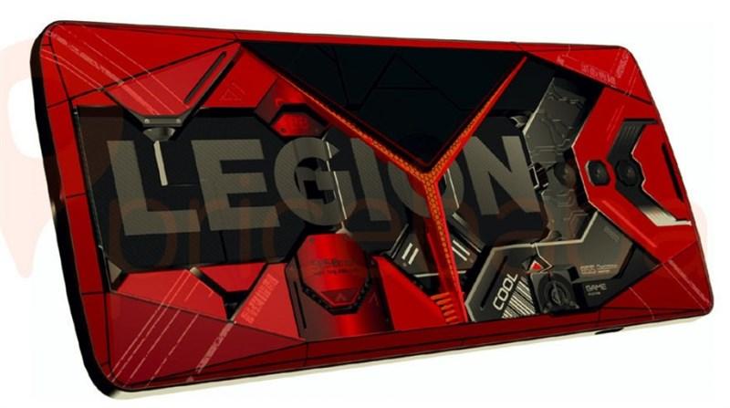 Smartphone dành cho game thủ Lenovo Legion lộ render với thiết kế hầm hố, 3 camera, pin dung lượng lên tới 5.050 mAh