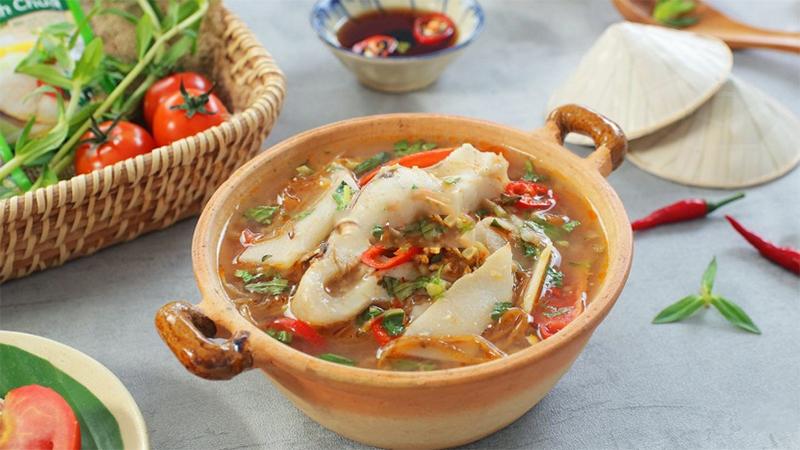 Cách làm cá nấu măng chua