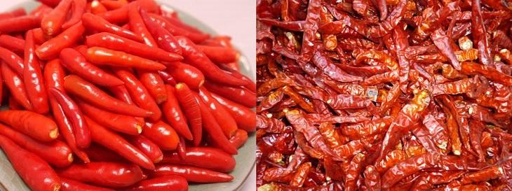 Bước 1 Sơ chế và làm khô ớt Ớt bột Hàn Quốc