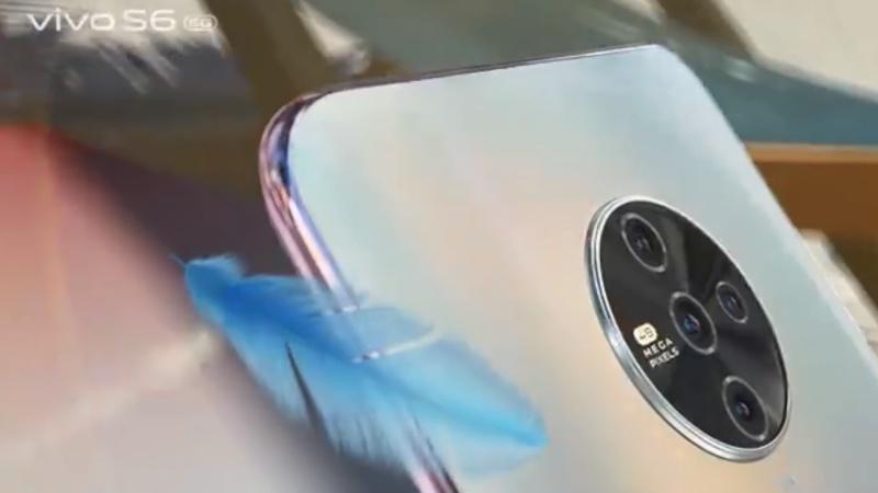 Hình ảnh chính thức của Vivo S6 5G đây rồi, 4 camera sau nằm trong cấu trúc hình tròn, mặt lưng chuyển sắc bao đẹp