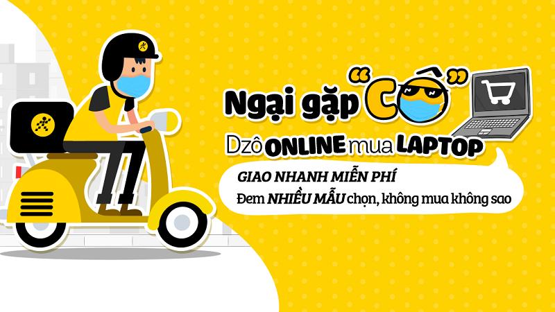 Mua laptop Online mùa dịch