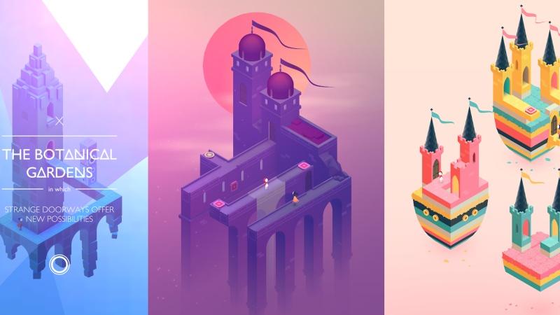 Monument Valley 2, game giải đố với đồ họa đẹp ngất ngây con gà tây đang cho tải miễn phí kìa cộng đồng Android ơi