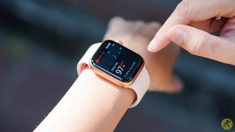 Hình ảnh Apple Watch S5 LTE phiên bản màu hồng