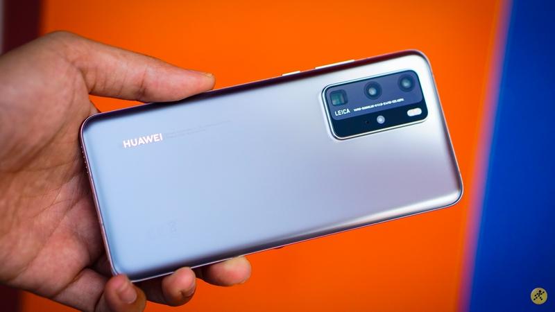 Huawei P40 Pro màu Bạc