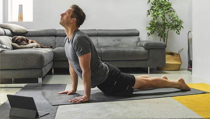 Tập vài động tác Yoga cơ bản sau khi kết thúc