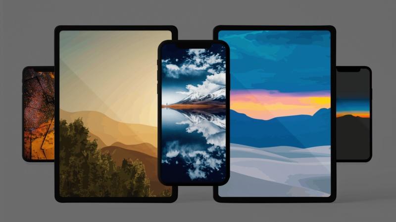 Của ít lòng nhiều, chia sẻ nhẹ với bạn loạt hình nền phong cảnh độ phân giải 6K cho iPhone, iPad và máy tính