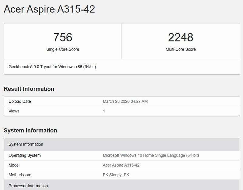 Đánh giá Acer Aspire A315