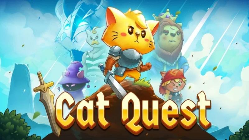 Hình ảnh trong game Cat Quest