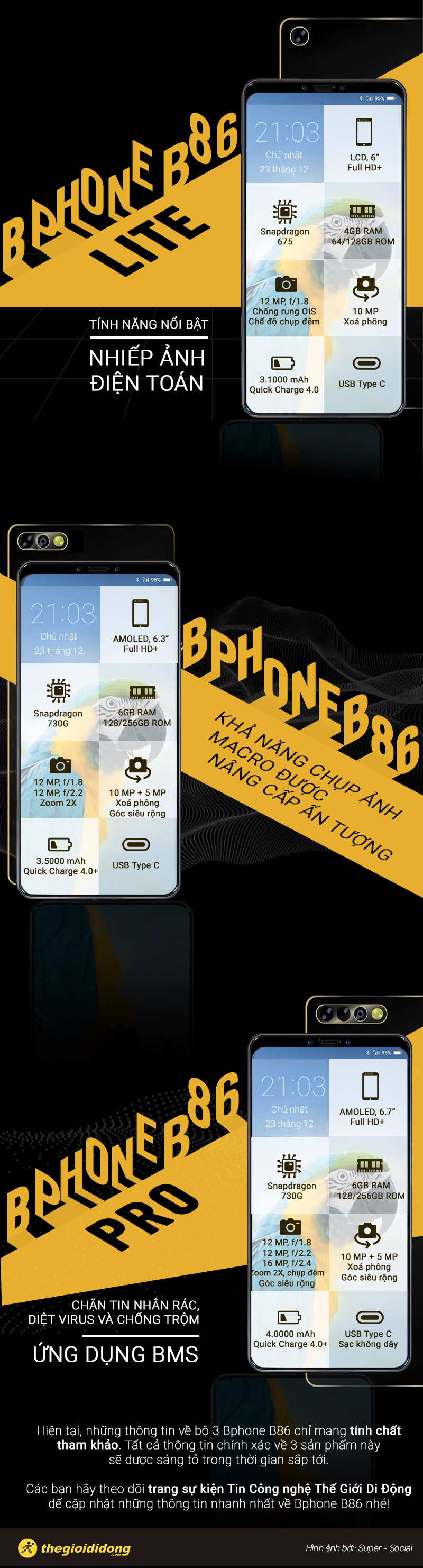 Sự kiện ra mắt Bphone B86
