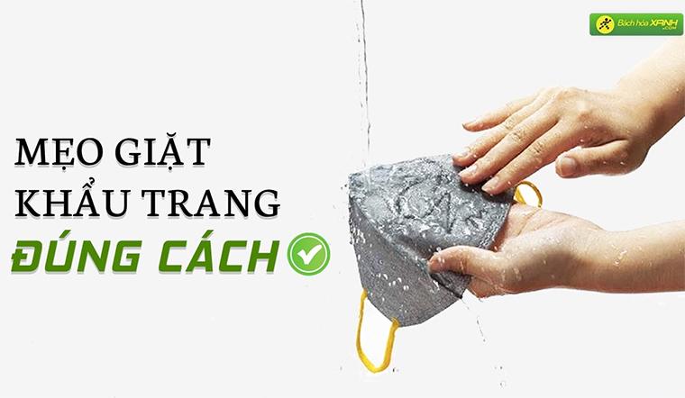 Mẹo giặt khẩu trang kháng khuẩn đúng cách để phòng chống dịch Covid-19 hiệu quả nhất