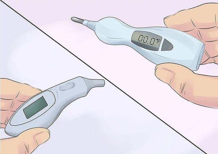 Đối với trẻ từ 3 tuổi trở lên, chọn bất kì nhiệt kế đo nào