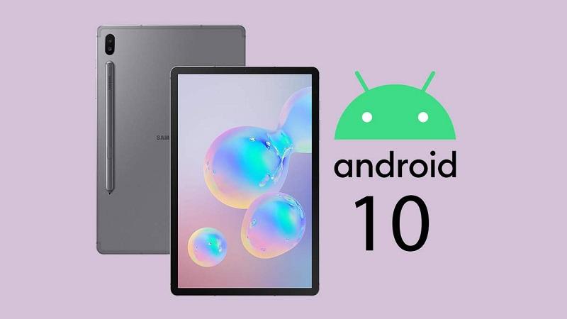 Galaxy Tab S6 chính thức nhận được bản cập nhật Android 10