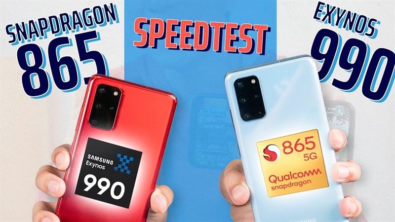 Ai phân vân giữa chip Exynos và Snapdragon thì vào mà đọc nè, Samsung vừa cho hay: Không có sự khác biệt về hiệu năng giữa Exynos 990 và Snapdragon 865