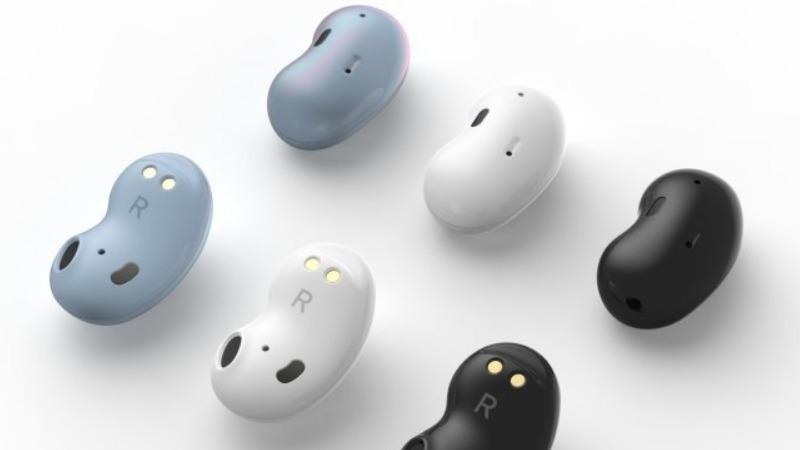 Tai nghe không dây Galaxy Buds thế hệ tiếp theo của Samsung bị rò rỉ hình ảnh, nhìn y chang như hạt đậu