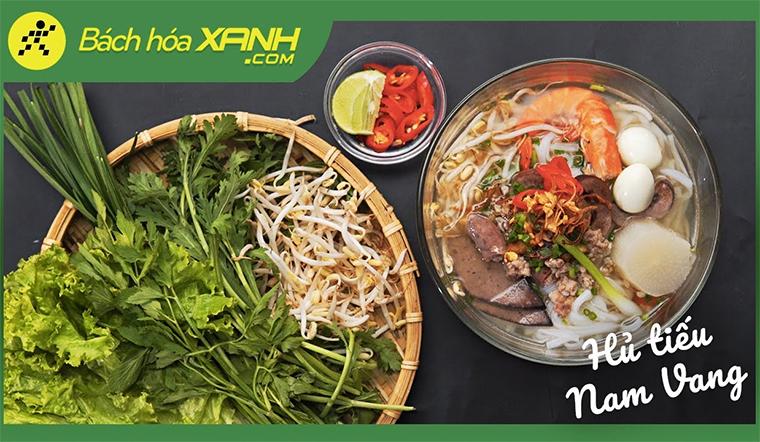 Cách nấu hủ tiếu Nam Vang ngon tuyệt - Nước dùng trong veo, đậm đà chuẩn vị như ngoài hàng