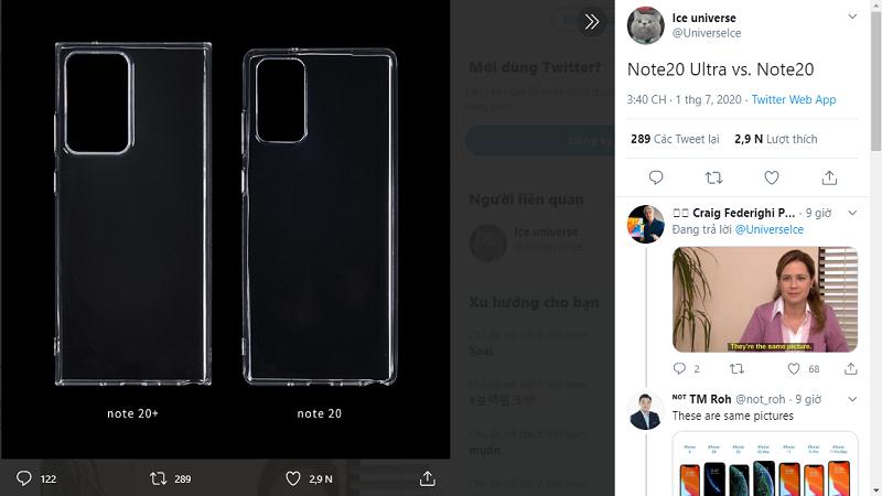 Ốp lưng Samsung Galaxy Note 20
