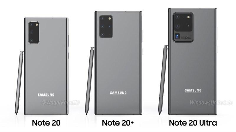 Các phiên bản Galaxy Note 10 được dự kiến sẽ ra mắt - Ảnh sưu tầm