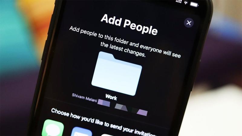 iCloud Sharing