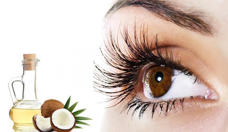 Cách dưỡng lông mi bằng dầu dừa và các nguyên liệu đơn giản