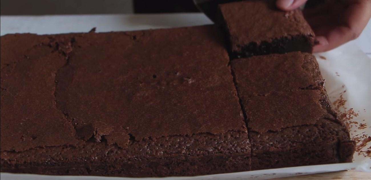 Bước 3 Nướng bánh Bánh Brownie socola