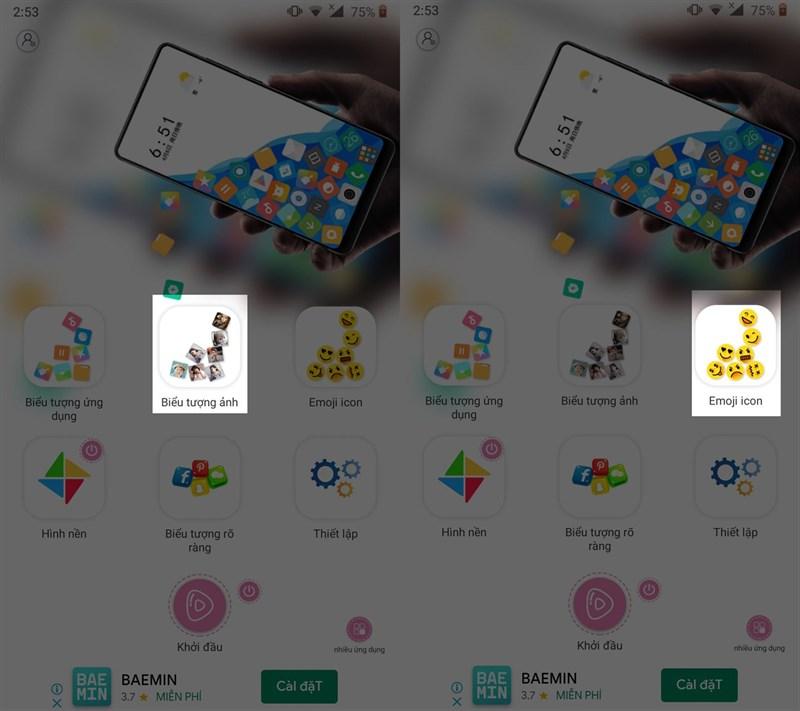 Điện thoại của bạn sẽ thú vị hơn với ứng dụng Icon Rolling