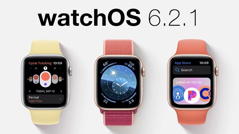 Apple phát hành watchOS 6.2.1 và bản cập nhật bổ sung của macOS 10.15.4