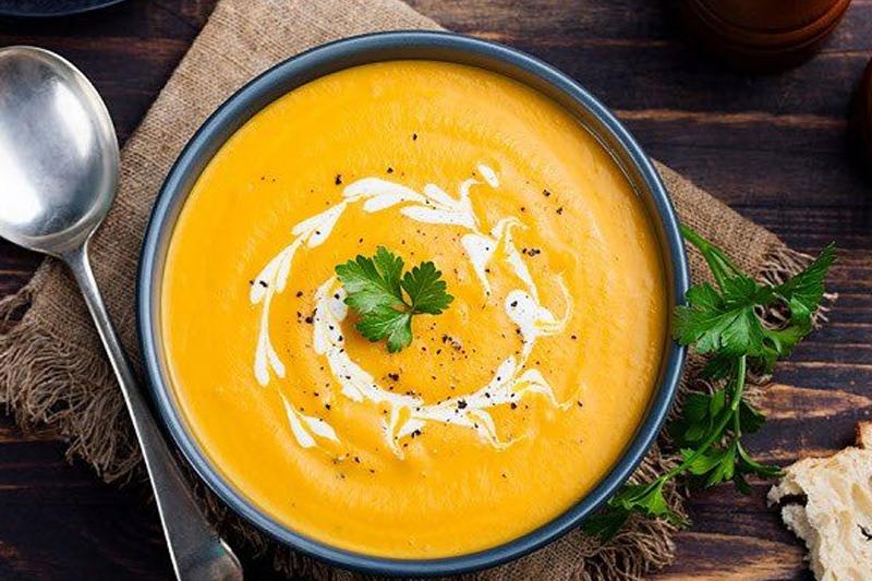 Ăn súp bí đỏ mỗi ngày để giảm cân