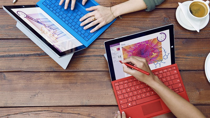 Laptop màn hình cảm ứng gập 360 độ VS Máy tính bảng bàn phím rời  Laptop màn hình cảm ứng gập 360 độ VS Máy tính bảng bàn phím rời: Cuộc chiến ngày càng ngay cấn microsoft  2552x1436 800 resize