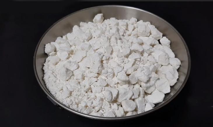 Bước 1 Làm bột gạo Sợi bánh canh bột gạo