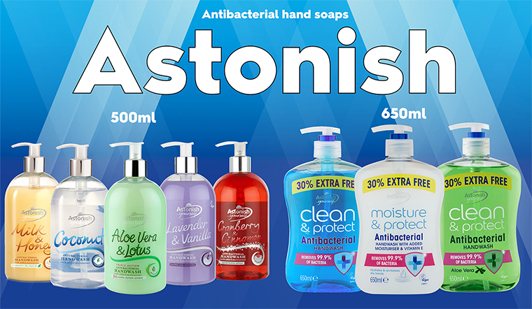 Nước rửa tay Astonish có tốt không?
