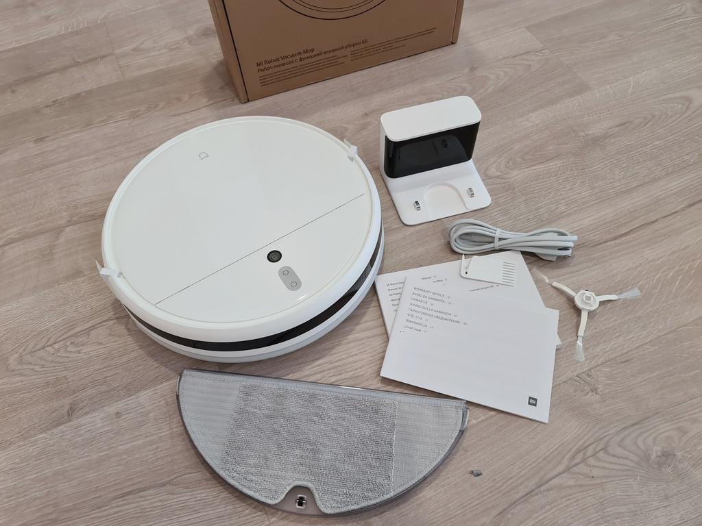Mở hộp sản phẩm, Mi Robot Vacuum Mop