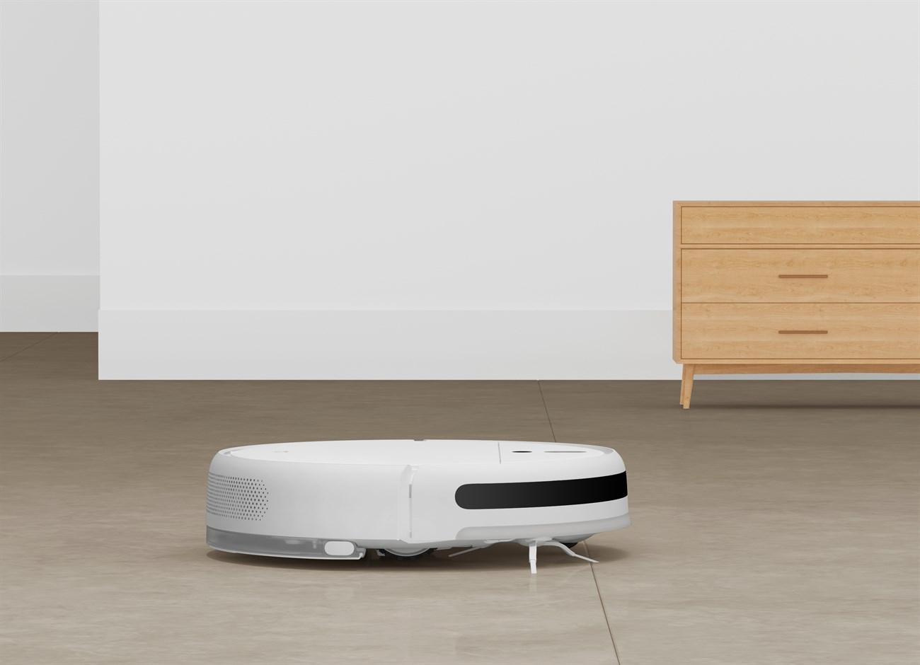 Mi Robot Vacuum-Mop đi kèm với công suất cực mạnh 2500 Pa