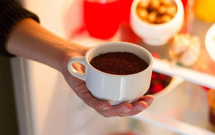 Bã cà phê khử mùi hôi hiệu quả