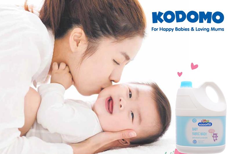 Xuất xứ, thương hiệu của nước giặt Kodomo