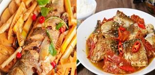 2 cách nấu cá bạc má kho măng và kho cà chua đơn giản, đậm đà đưa cơm