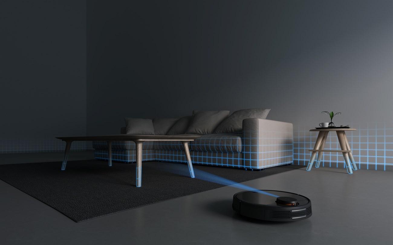 Mi Robot Vacuum Mop P có Cảm biến định tuyến laser LDS