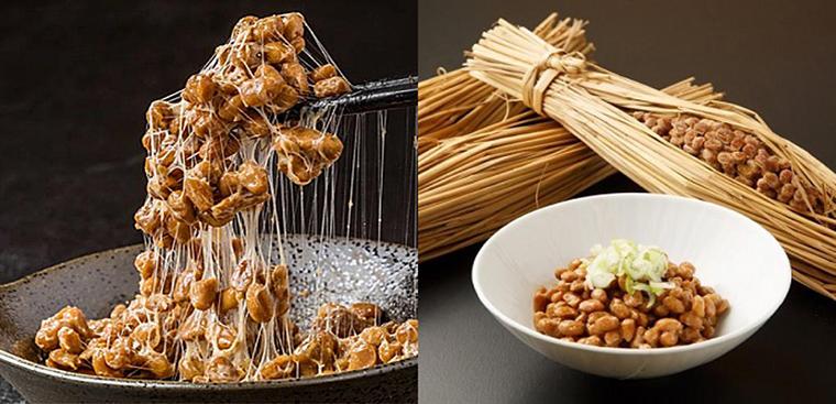 Natto - đậu tương lên men