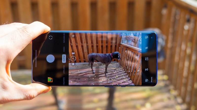 Giao diện camera OnePlus 8 Pro