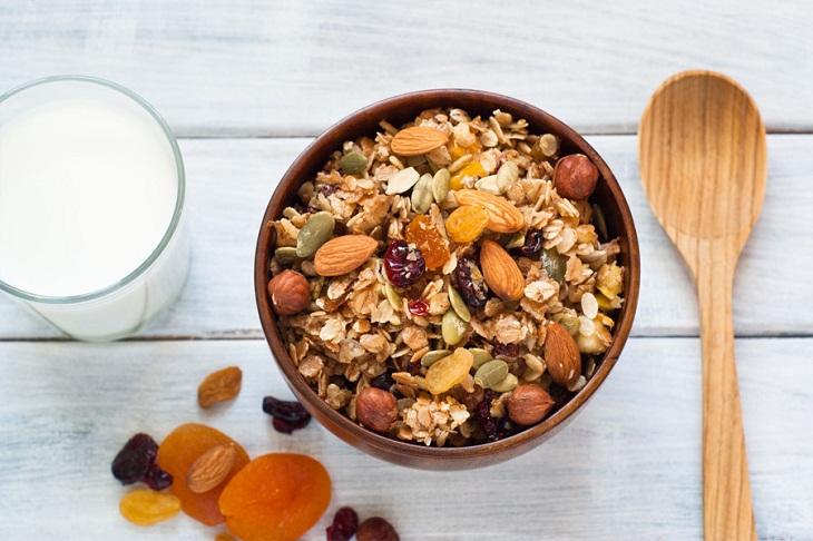 Granola Phù hợp cho người ăn kiêng, giảm cân và ăn chay