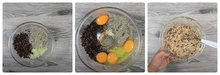Bước 2 Trộn và nêm nếm trứng Trứng hấp thịt băm