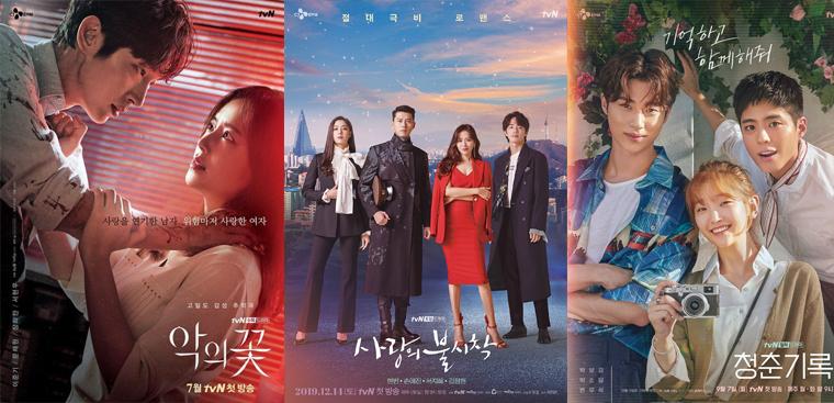 10 bộ phim truyền hình Hàn Quốc mới hay nhất năm 2020 không thể bỏ qua